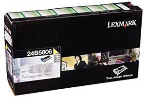 Lexmark 24B5806 Yellow [OEM] Genuine Toner Cartridge for XS748de CS736