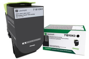 Lexmark 71B10K0 Black [OEM] Genuine Toner Cartridge CS317dn CX417de