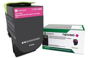 Lexmark 71B1HM0 Magenta [OEM] Genuine High Yield Toner Cartridge CS417