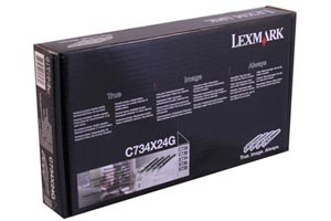 Lexmark C734X24G [OEM] Genuine Photoconductor Unit Set 4 Pack C746N