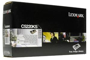 Lexmark C5220KS [OEM] Genuine Black Toner Cartridge for C522 C524 C530 C532 C534 Color