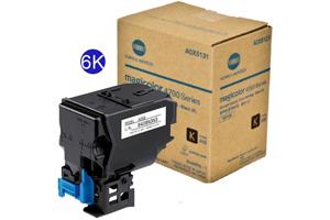 Minolta A0X5130 Black Hi-Yield [OEM] Genuine Toner for MagiColor 4750