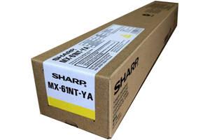 Sharp MX-61NTYA Yellow Original Toner Cartridge for MX-2630N