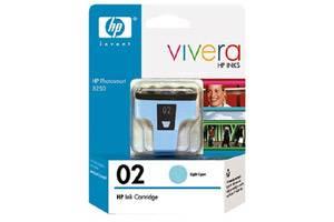 HP C8774WN (#02) Light Cyan OEM Genuine Ink Cartridge for Photosmart 3110 D7160