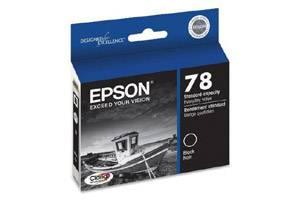 Epson T078120 #78 Black OEM Genuine Ink Cartridge for Stylus Photo R260 R280 RX580 RX680