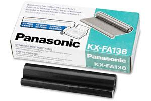 Panasonic KX-FA136 [OEM] Genuine Thermal Ink Film Refill - 2/PACK