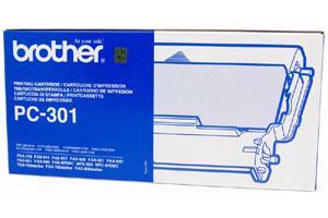 Brother PC-301 [OEM] Genuine Black Fax Cartridge