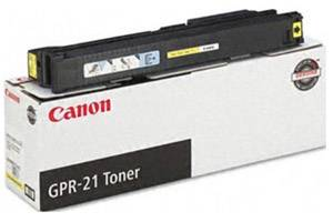 Canon GPR-21 Yellow [OEM] Genuine Toner Cartridge ImageRunner C4080