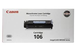 Canon 106 [OEM] Genuine Toner Cartridge for ImageClass MF6500 MF6530