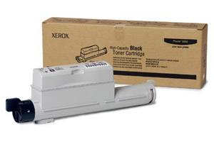 Xerox 106R01221 Black [OEM] Genuine Toner Cartridge for Phaser 6360 Color Printer