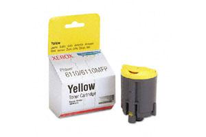 Xerox 106R01273 [OEM] Genuine Yellow Toner Cartridge for Phaser 6110 6220 Color Printer