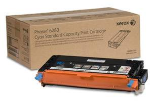 Xerox 106R01388 [OEM] Genuine Standard Yield Cyan Toner Cartridge for Phaser 6280
