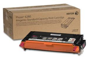 Xerox 106R01389 [OEM] Genuine Standard Yield Magenta Toner Cartridge for Phaser 6280