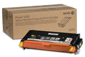 Xerox 106R01390 [OEM] Genuine Standard Yield Yellow Toner Cartridge for Phaser 6280