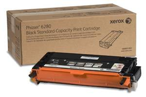 Xerox 106R01391 [OEM] Genuine Standard Yield Black Toner Cartridge for Phaser 6280