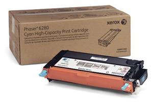 Xerox 106R01392 [OEM] Genuine High Yield Cyan Toner Cartridge for Phaser 6280