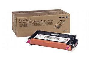 Xerox 106R01393 [OEM] Genuine High Yield Magenta Toner Cartridge for Phaser 6280