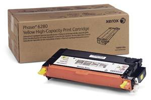 Xerox 106R01394 [OEM] Genuine High Yield Yellow Toner Cartridge for Phaser 6280