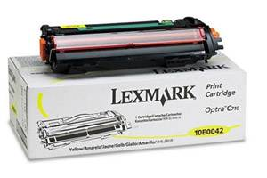 Lexmark 10E0042 [OEM] Genuine Yellow Toner Cartridge Optra C710 Color Laser Printer