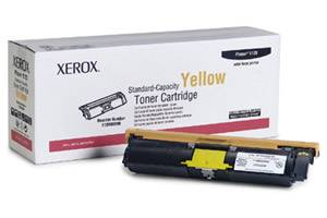 Xerox 113R00690 [OEM] Genuine Yellow Toner Cartridge for Phaser 6115 6120 Printer
