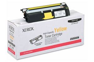 Xerox 113R00694 [OEM] Genuine Yellow Hi-Yield Toner Cartridge for Phaser 6115 6120 Printer