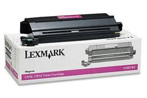 Lexmark 12N0769 Magenta [OEM] Genuine Toner Cartridge for C910 C912 Color Laser Printer