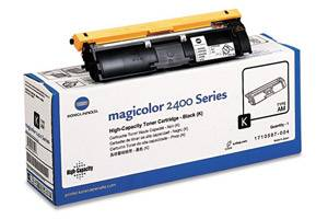 Minolta 1710587-004 Black [OEM] Genuine Toner for QMS MagiColor 2400