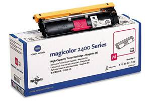 Minolta 1710587-006 Magenta [OEM] Genuine Toner for QMS MagiColor 2400
