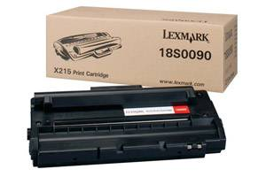 Lexmark 18S0090 [OEM] Genuine Laser Toner Cartridge for X215 Laser Printer