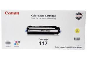 Canon 117 [OEM] Genuine Yellow Toner Cartridge for ImageClass MF8450c
