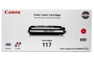 Canon 117 [OEM] Genuine Magenta Toner Cartridge for ImageClass MF8450c