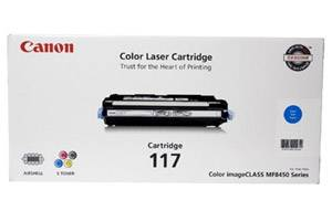 Canon 117 [OEM] Genuine Cyan Toner Cartridge for ImageClass MF8450c