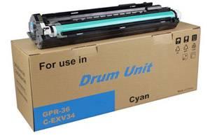 Canon 3787B004BA GPR-36 [OEM] Genuine Cyan Imaging Drum Unit for C2020