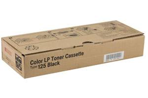Ricoh 400963 Type 125 [OEM] Genuine Black Toner Cartridge for Aficio CL2000 CL3000