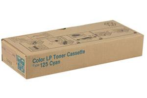 Ricoh 400969 Type 125 [OEM] Genuine Cyan Toner Cartridge for Aficio CL2000 CL3000