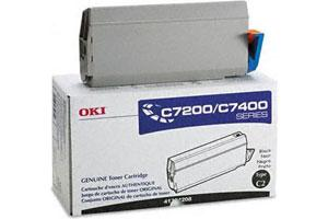 Okidata 41304208 [OEM] Genuine Black Toner Cartridge for Okidata C7200N C7400N Color