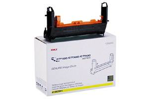 Okidata 41962801 [OEM] Genuine Yellow Drum Unit for C7300 C7350n C7500n C7550n