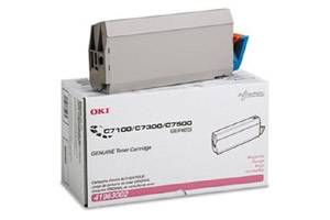 Okidata 41963002 [OEM] Genuine Magenta Toner Cartridge for C7300 C7350n C7500n C7550n
