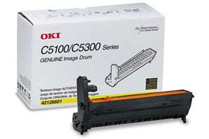 Okidata 42126601 [OEM] Genuine Yellow Drum Unit for C5100N C5200N C5300N C5400