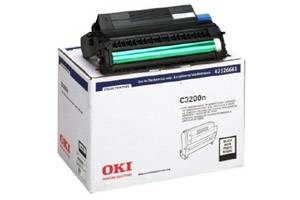 Okidata 42126661 [OEM] Genuine Black Image Drum for C3200 C3200N Color Printer