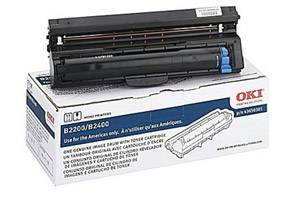 Okidata 43650301 [OEM] Genuine Drum Unit for B2200 B2400 MFP Printer