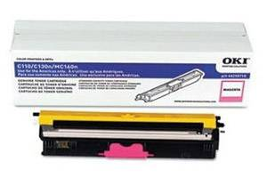 Okidata 44250710 [OEM] Genuine Magenta Type D1 Toner Cartridge for C110 C130 MC160
