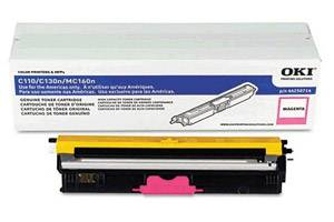 Okidata 44250714 [OEM] Genuine Magenta High Yield Type D1 Toner Cartridge C110 C130