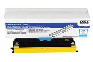 Okidata 44250715 [OEM] Genuine Cyan High Yield Type D1 Toner Cartridge for C110 C130
