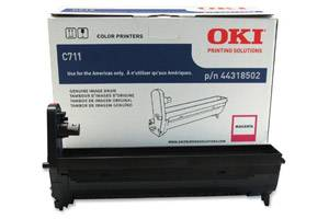 Okidata 44318502 [OEM] Genuine Magenta Drum Unit for Okidata C711dn Color Printer