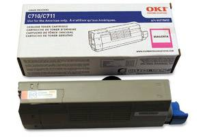 Okidata 44318602 [OEM] Genuine Magenta Toner Cartridge for Okidata C711dn Color Printer
