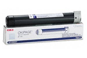 Okidata 52109001 [OEM] Genuine Toner Cartridge for OkiPage 10e 10ex 10i 12i 14e
