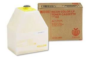 Ricoh 885373 Type 105 [OEM] Genuine Yellow Toner Cartridge Aficio AP3800 CL7000