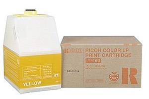 Ricoh 888443 [OEM] Genuine Yellow Toner Cartridge for Aficio CL7200 CL7300
