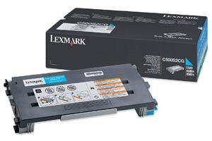 Lexmark C500S2CG [OEM] Genuine Cyan Toner Cartridge for C500N X500N X502N